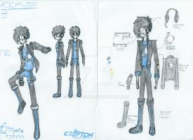 Vocaloid OC: Mystic Concept and v.2 by Mystic2760