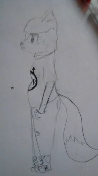 frankie side view c: by MichaelLee666