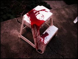 Bloody Stool by DarkerThanBlack