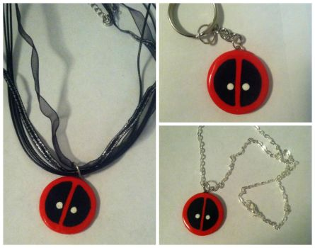 Deadpool - Jewelry / Key chain by DarkPony967