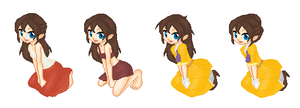 Jane Porter Outfits by SelenaEde