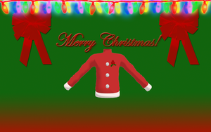 MMD - Male Festive Sweater DL by MeoRoo