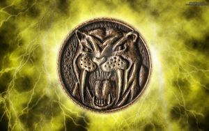 New MMPR HD Power Coin Wallpaper (Yellow) by RussJericho23