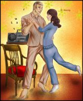 30 Day Hannibloom - 20 Dancing by FuriarossaAndMimma