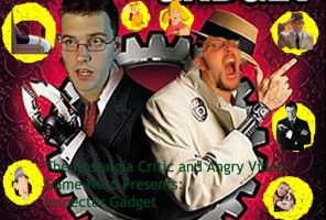 Angry Video Game Nerd/Nostalgia Critic Title Card by Fortuneteller102