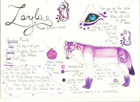 Layla.:REF SHEET:. by Tanchie97
