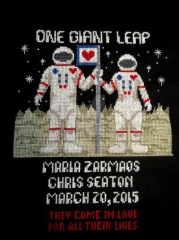 NASA Wedding Sampler by NevaSirenda