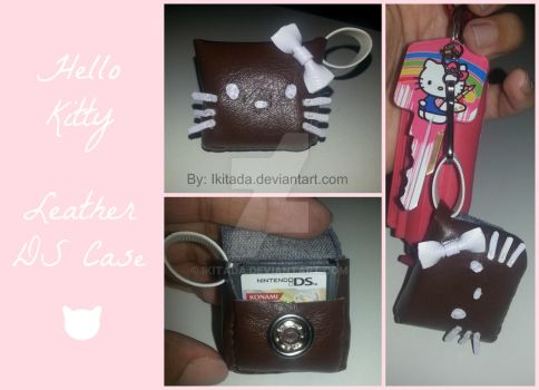 Hello Kitty Leather DS by Ikitada