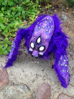 Finished Voidling plush!!! by darkangellord69