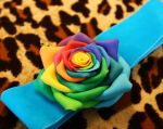 Rose in polymer clay by Mariquez