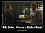 MP - Sherlock Holmes Meets Dexter by watermelemon