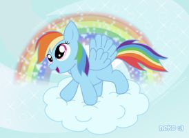Rainbow Dash by McSadat