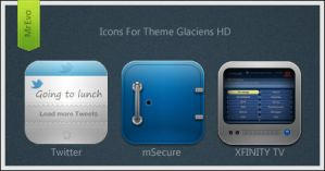 Glaciens HD Extra Icons Pack 3 by Mr-Evo