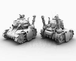 Metal Slug Tank by Char0w