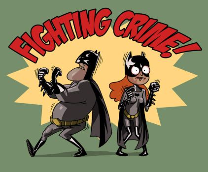 Fighting Crime by PeteYong