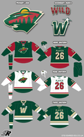 Wildwing64's NHL: Minnesota Wild by wildwing64