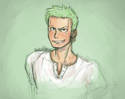 Zoro :D by rockinrobin