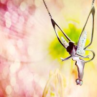 Tinkerbell Necklace by Lady-photographer