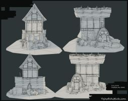 ArenaNet Art test Wireframe by Tejayfc