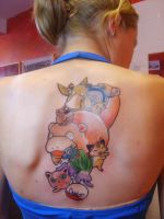 Pokemon by SimplyTattoo