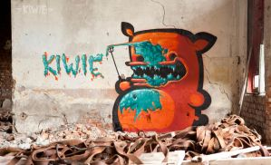 POINT OUT YOUR WALL by KIWIE-FAT-MONSTER