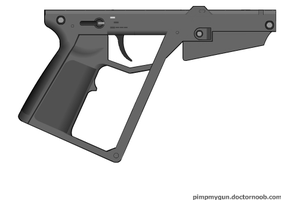 Black Light : Retribution Styled Lower Receiver by Epicsunrise