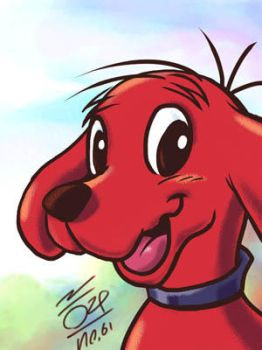 The Big Red Dog by aun61