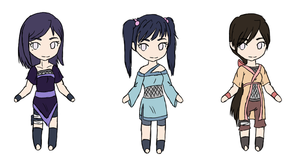 reselling custom hyuuga adoptables by michyla