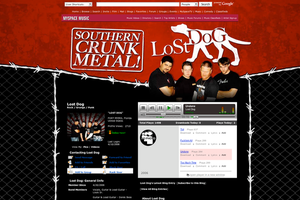 Lost Dog Myspace Page by xstortionist