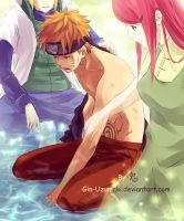 NARUTO- Stand up. We are always by your side. by Gin-Uzumaki
