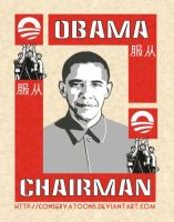 Obama Chairman USSA by Conservatoons