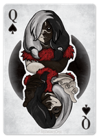 Hel Playing Card by Resonance-crea