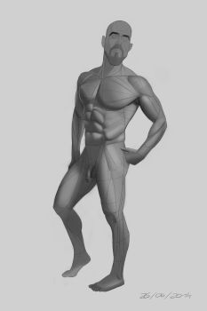 27 JUNE 2014 - Figure study by VonKulfon
