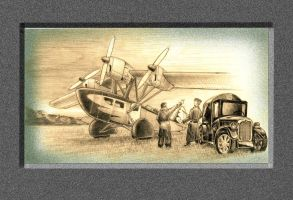 Mail plane 2-1 by lnago