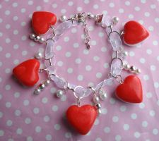 Haribo love heart bracelet by citruscouture