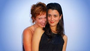 Cote De Pablo Lauren Holly by Dave-Daring