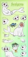 Sealgon Species Sheet (closed species) by foreign-potato