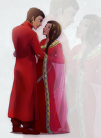 Faberian Male and Female by MandoGirl22