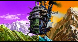 Moving Castle by thesander