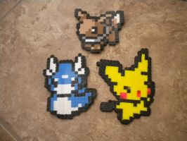 Pokemon i have made so far by BobaBearBubbles