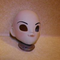 Completed casted and face-uped hand made bjd head by ab-rowin
