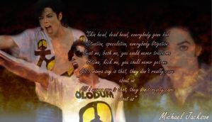 Michael Jackson They Don't Care About Us Wallpaper by Wings-of-Sapphire
