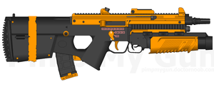 Astronar's SI-556 Assault Rifle by Storm-X