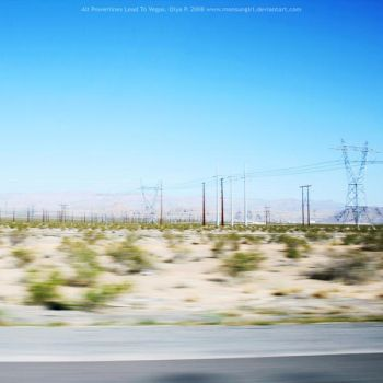 All Powerlines Lead to Vegas by monsungirl