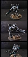 tau broadside battlesuit by thevampiredio