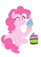 Pinkie Pie: Cupcakes by Donaldmaniak