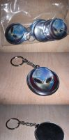 Zazzle Alien Head Keychain by sicklilmonky