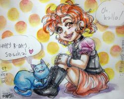 Little Saschita by LadyCat17