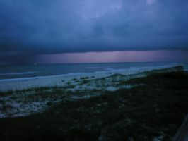 Dark Stormy Night at the Beach by RestLeSsD