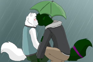 Kissing in the Rain by K3RI1